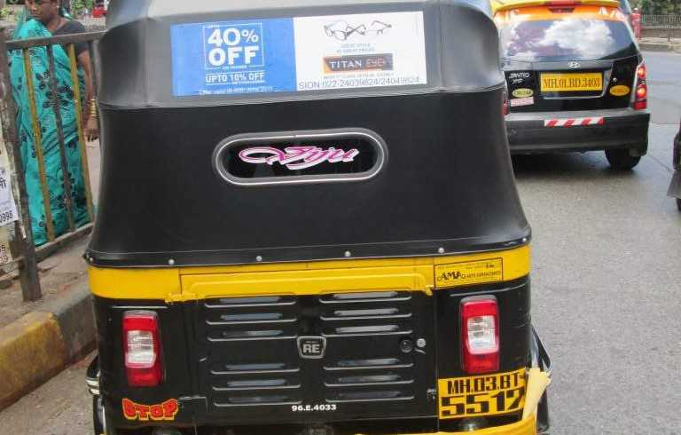 Non-Traditional Advertising in Auto Rickshaw Port Blair