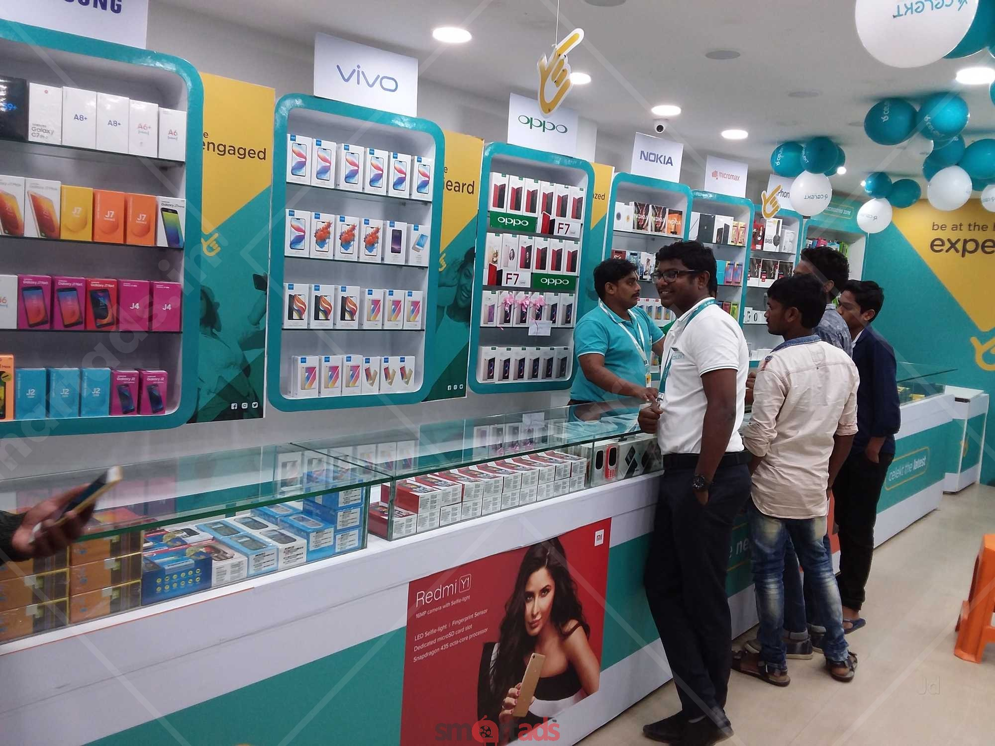 Non-Traditional Advertising in Mobile Stores Pune