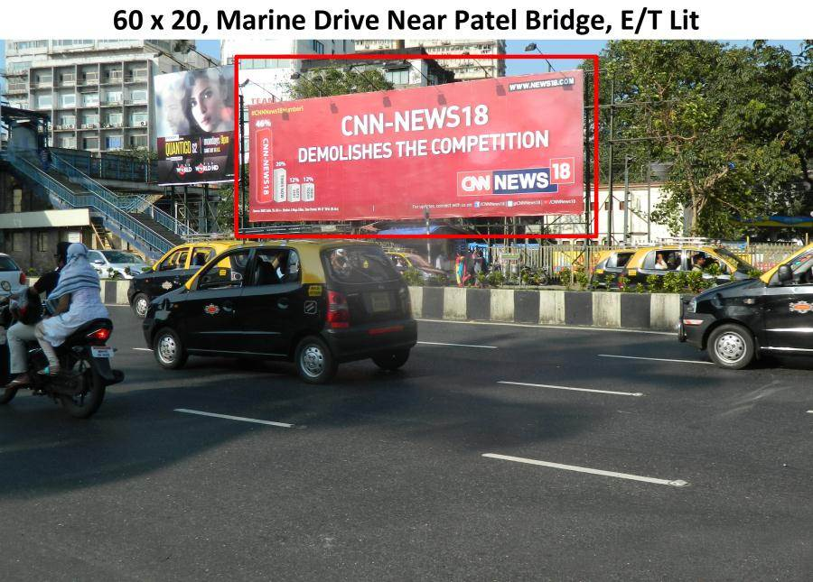 Outdoor Advertising in Bill Board Marine Drive