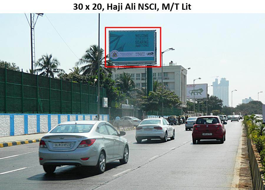 Outdoor Advertising in Bill Board Haji Ali