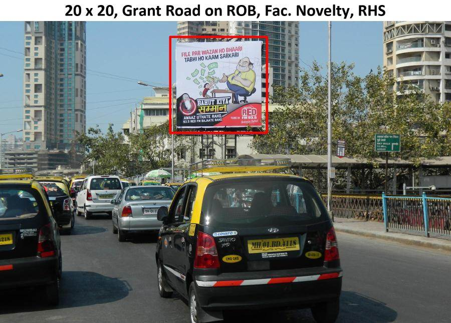 Outdoor Advertising in Bill Board Grant Road
