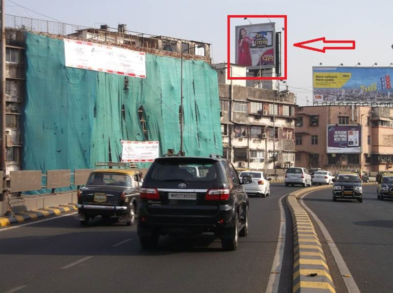 Outdoor Advertising in Bill Board JJ Flyover