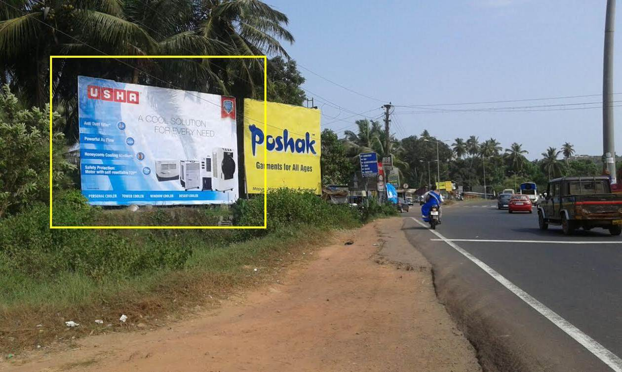 Outdoor Advertising in Bill Board Panji