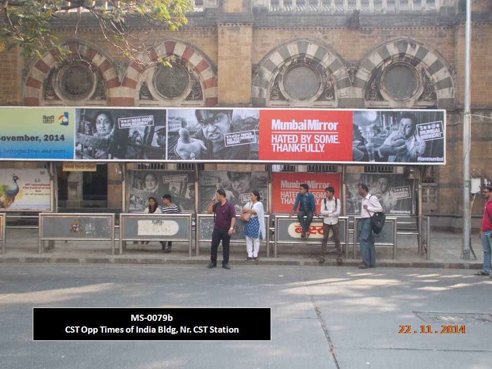 Outdoor Advertising in Bus Shelter CST