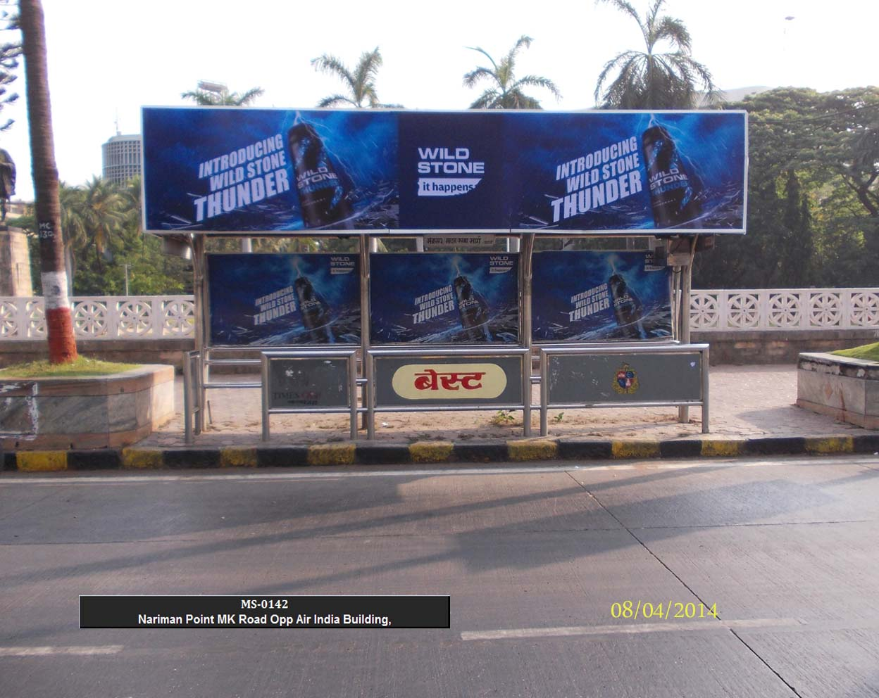 Outdoor Advertising in Bus Shelter Nariman Point
