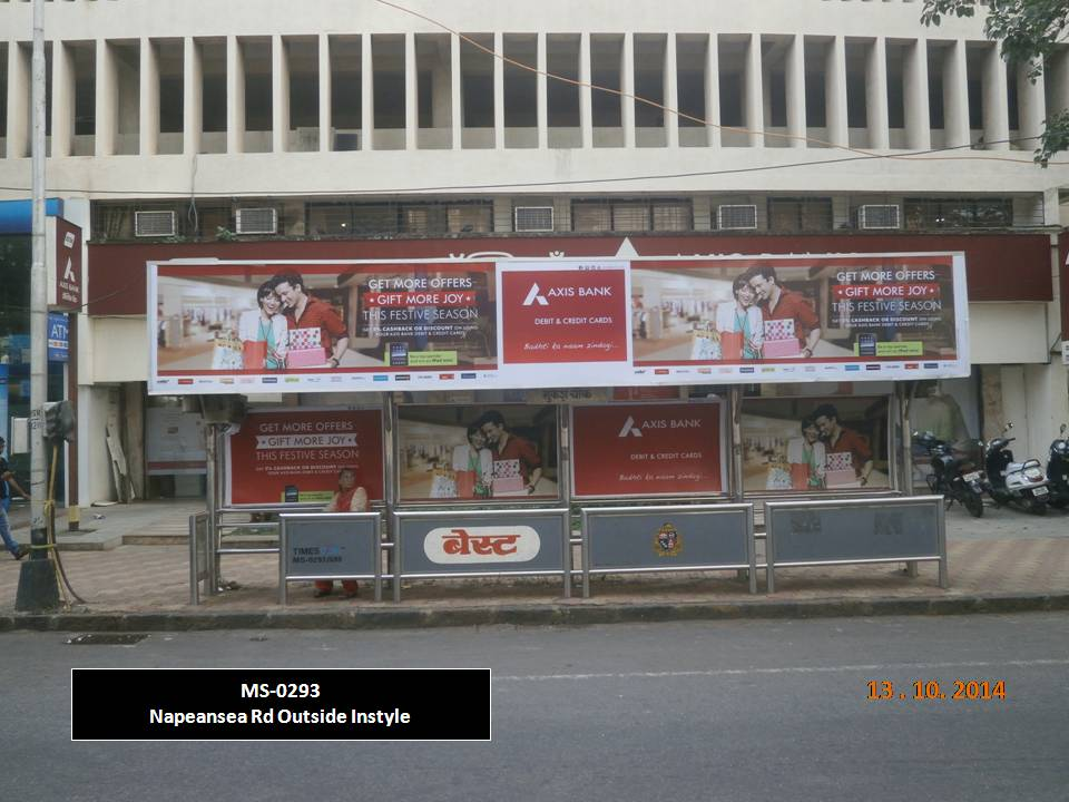 Outdoor Advertising in Bus Shelter Napeansea Rd