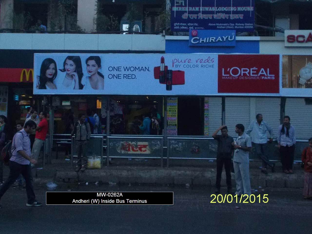 Outdoor Advertising in Bus Shelter Andheri West