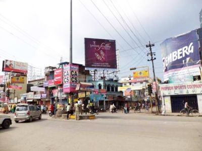 Outdoor Advertising in Bill Board Golghar