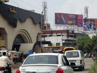 Outdoor Advertising in Bill Board Goldi Cinema Station Road
