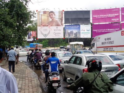 Outdoor Advertising in Bill Board RTO Chowk