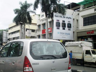 Outdoor Advertising in Bill Board Karve Road