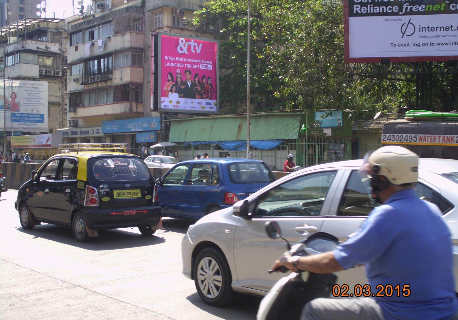Outdoor Advertising in Bill Board Worli
